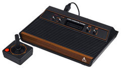 Atari 2600 VCS - CX2600A - four-switch