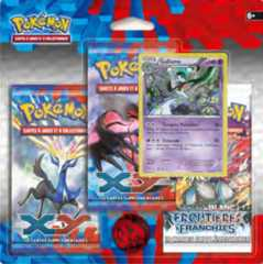 Pokemon XY Base Set 3 Pack Blister with Gallade Promo Card