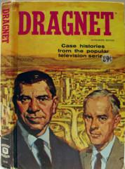 Dragnet © 1957 Whitman TV Book 1510