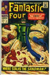 FANTASTIC FOUR #061 © April 1967 Marvel Comics
