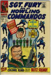 Sgt. Fury and the Howling Commandos #041 © April 1967 Marvel