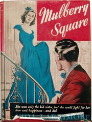 Mulberry Square by Juda Larrimore, Triangle Books #18 © 1945 w/ Dust Jacket
