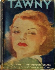 Tawny by Donald Henderson Clarke, Triangle Books #67 © 1946 w/ Dust Jacket