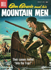 Ben Bowie and His Mountain Men #14 © February-April 1958 Dell