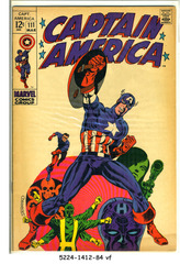 Captain America #111 © March 1969 Marvel