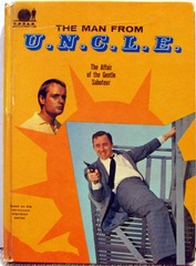 MAN FROM UNCLE The Affair of the Gentle Saboteur © 1966 Whitman 1541