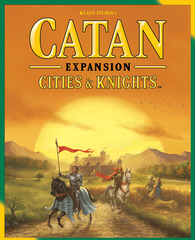 Settlers of Catan: Cities and Knights Game Expansion © 2015 Mayfair Games MFG 3077