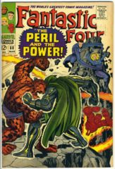 FANTASTIC FOUR #060 © March 1967 Marvel Comics