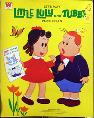 Little Lulu and Tubby Paper Dolls © 1974 Whitman Unused Unpunched