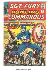 Sgt. Fury and the Howling Commandos #013 © December 1964 Marvel Comics