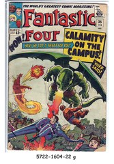 Fantastic Four #035 © February 1965 Marvel Comics