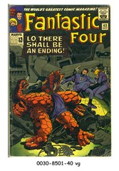 Fantastic Four #043 © October 1965 Marvel Comics