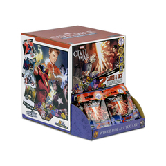 Marvel Dice Masters: Civil War - Gravity Feed Display