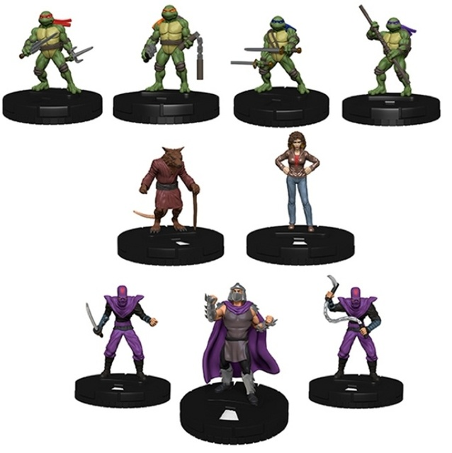 Teenage Mutant Ninja Turtles HeroClix: Heroes in a Half Shell Fast ...