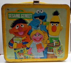 SESAME STREET School Room Lunch Box