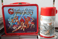 ThunderCats Lunch Box w/ Thermos © 1985 Aladdin