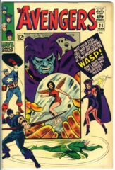 The AVENGERS #026 © March 1966 Marvel Comics