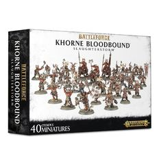 Khorne Bloodbound Slaughterstorm Battleforce  © 2016  GAW 71-82