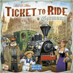 Ticket to Ride: Germany © 2017 DOW DO7215