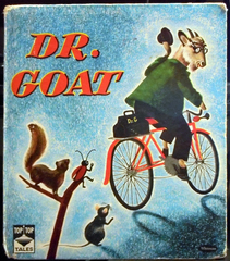 Dr. Goat © 1950 Whitman Top Top Tales 2487