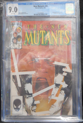 The New Mutants #26 (Apr 1985, Marvel) CGC 9.0