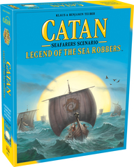 Settlers of Catan: Legend of the Sea Robbers Expansion