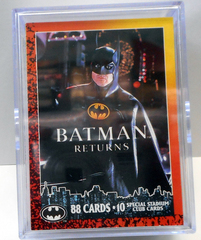 Batman Returns Topps Card Set w/ Chase Cards © 1992