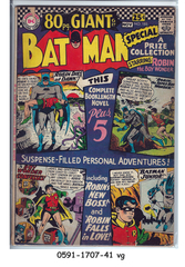 Batman #185 © October- November 1966 DC Comics