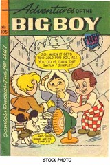 Adventures of the Big Boy #195 © 1973