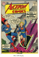 ACTION COMICS #252 © May 1959 DC Comics