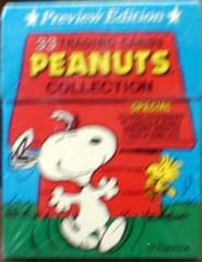 PEANUTS PREVIEW SET © 1992 Tuff Stuff