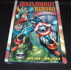 ONSLAUGHT REBORN © 2008 MARVEL  JEPH LOEB ROB LIEFIELD HARDCOVER HC