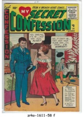 My Secret Confession #1 © September 1955 Sterling Comics