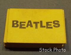 Beatles Flip Your Wig; Beatle Card