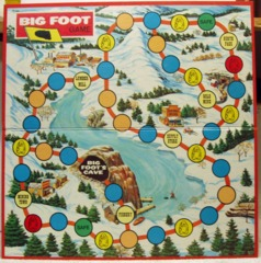 Big Foot Game Board