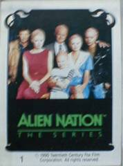 ALIEN NATION Card Set © 1990 FTCC