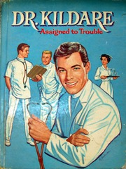 Dr. Kildare, Assigned to Trouble © 1963 Whitman 1547