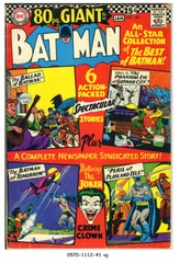 BATMAN #187 © 1967 DC Comics