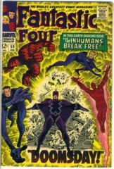 FANTASTIC FOUR #059 © February 1967 Marvel Comics