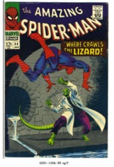 Amazing Spider-Man #044 © January 1967 Marvel Comics