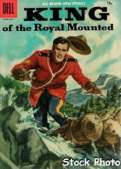 King of the Royal Mounted #25 © June-August 1957 Dell