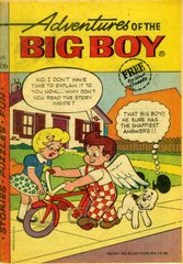 Adventures of the Big Boy #166 © 1971