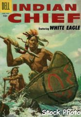 Indian Chief #22 © April-June 1956 Dell