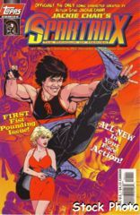 Jackie Chan's Spartan X: The Armour of Heaven #1 © May 1997 Topps Comics
