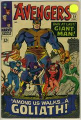 The AVENGERS #028 © May 1966 Marvel Comics