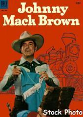 Johnny Mack Brown © September 1953 Dell 4C493