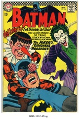 BATMAN #186 © 1966 DC Comics