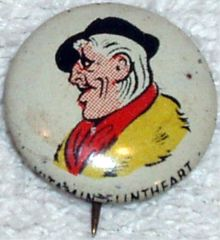 VITAMIN FLINTHEART © 1946 Kellogg's PEP Pin