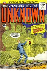 Adventures into the Unknown #132 © 1962 American Comics Group