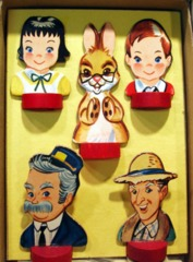Captain Kangaroo Game Tokens